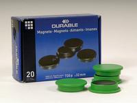 Magneetti 475305 32mm vihreä, 1 kpl=20 magneettia