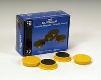 Magneetti 475304 32mm keltainen, 1 kpl=20 magneettia