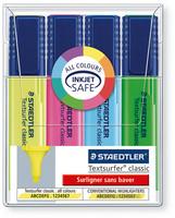 Staedtler Textsurfer 364 korostuskynä viisto 1-5mm värilajitelma, 1 kpl=4kynää