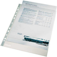 Kalvotasku  A4 PP 0.04 yl/a kirkas 100/pakkaus