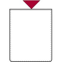 Muovikotelo, 60 x 90 mm, ylhäältä auki