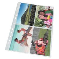 Valokuvatasku A4 PP 10x15cm kirkas 10 kuville