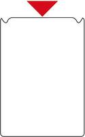 Tarratasku A5, lyhyt sivu auki, vahvuus 0,12 mm