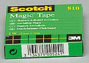 Asiakirjateipit Scotch 810 12mmx33m