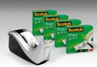 4rullaa Scotch magic 810 + C60 musta/harmaa