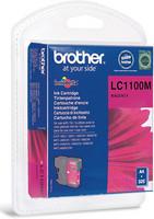 Brother LC1100M punainen väripatruuna