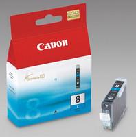 Canon CLI-8C Mustesuihkupatruuna cyan