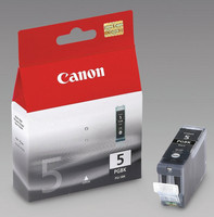 Canon PGI-5BK Mustesuihkupatruuna musta, IP4200/5200