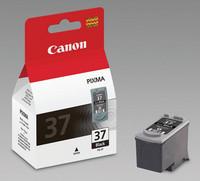 Canon PG-37 Mustesuihkupatruuna musta