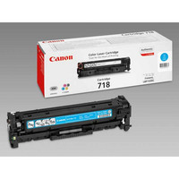 Canon 718C Laservärikasetti cyan