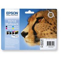 Epson T0715 Mustesuihkupatruuna 4-väriä