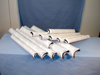 Postitusputki 510x50 mm litistetyt päät