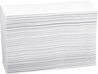 Käsipyyhe Z-taitto 23,5 x 24 cm valkoinen