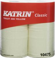 Wc-paperi  Katrin ClassicToilet 2-kertainen keltainen