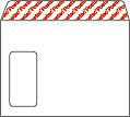 Kirjekuori ST E4AH valkoinen isoikkuna  500/ltk