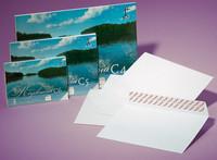 Vähittäispakattu kirjekuori STC5 60x90 valkoinen tarra 25/kpl