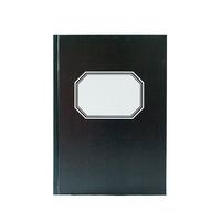 Konttorikirja A5/192 7x7 ruudut musta