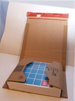 Postituspakkaus A5 217*155*-60 ruskea