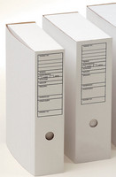 Arkistolaatikko A4 7cm etikettipainatus