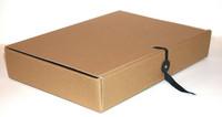 Arkistokotelo nappi/nauha 6cm 1,5mm