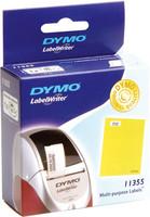 Dymo S0722550 LW yleistarra 51 x 19mm irtoavalla liimalla, 1 kpl=500 tarraa