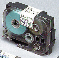 Brother teippi TZ-241 18mmx8m musta/valkoinen