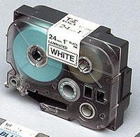 Brother teippi TZ-251 24mmx8m musta/valkoinen