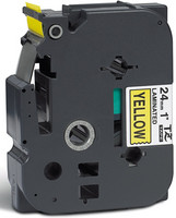Brother teippi TZ-651 24mmx8m musta/keltainen