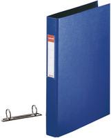 2-rengaskansio A4 40mm PP, sininen