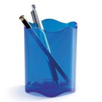 Kynäpurkki Idealplus 10cm läpikuultavan sininen