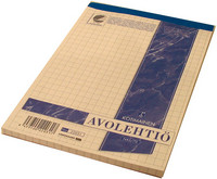 Avolehtiö A5/70 7x7 mm valkoinen 10kpl/paketti
