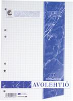 Paperipiste liimalehtiö A4 ruudutettu 7x7mm, 1 kpl= 10 lehtiötä