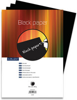 Piirustuspaperi Talex A4 80g musta 20/arkkia