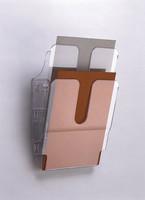 Seinätelineet flexiplus A4 pysty/kirkas 2/paketti