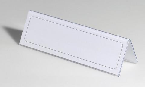 Nimikylttiteline pöytä 210x61 25/paketti