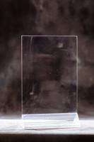 Pöytäteline V210 A4 2-puolinen kirkas