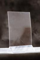 Pöytäteline V150 A5 2-puolinen kirkas
