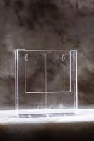 Pöytä/seinäteline W230 A4 kirkas