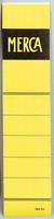 Mercantil etiketti 4 cm tarra keltainen  100/pkt