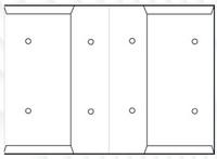 Sisäisen postin kuori, A4, 25kpl