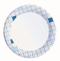 Kartonki lautanen matala 18cm ruutu 100/paketti