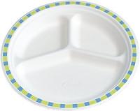 Lautanen 3-osainen Chinet 50/paketti