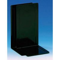 Kirjatuki metallinen 14 cm musta 2kpl/pkt