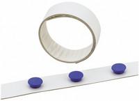 Magneettilista 35 mm 5 m valkoinen
