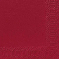 Lautasliina 24x24 cm viininpunainen 300/paketti