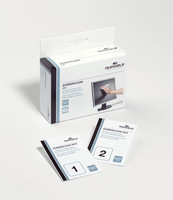 Durable puhdistuspyyhe näytölle kuiva/kostea, 1 kpl= 2x10 pyyhettä