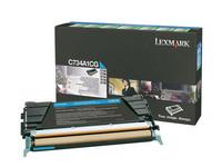 Lexmark C734A1CG sininen laserkasetti