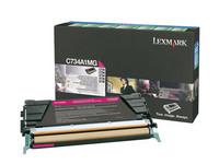 Lexmark C734A1MG punainen laserkasetti