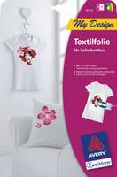 Siirtopaperi valkoisille T-paidoille A4 5 arkkia/paketti