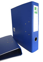 Mappi Q-Connect+ 700 A4 metallivahvistus sininen 10kpl